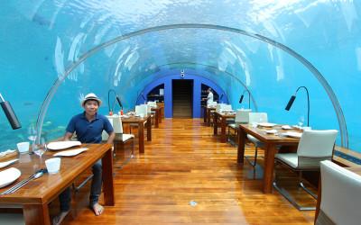 отель Conrad под водой