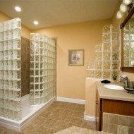Дизайн перегородок в ванной