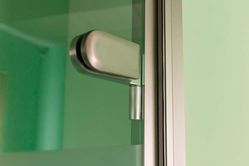 фурнитура стеклянной двери