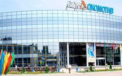 Остекление стадиона Локомотив панорама