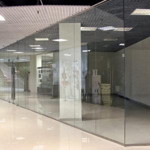 перегородки торговых центров фото