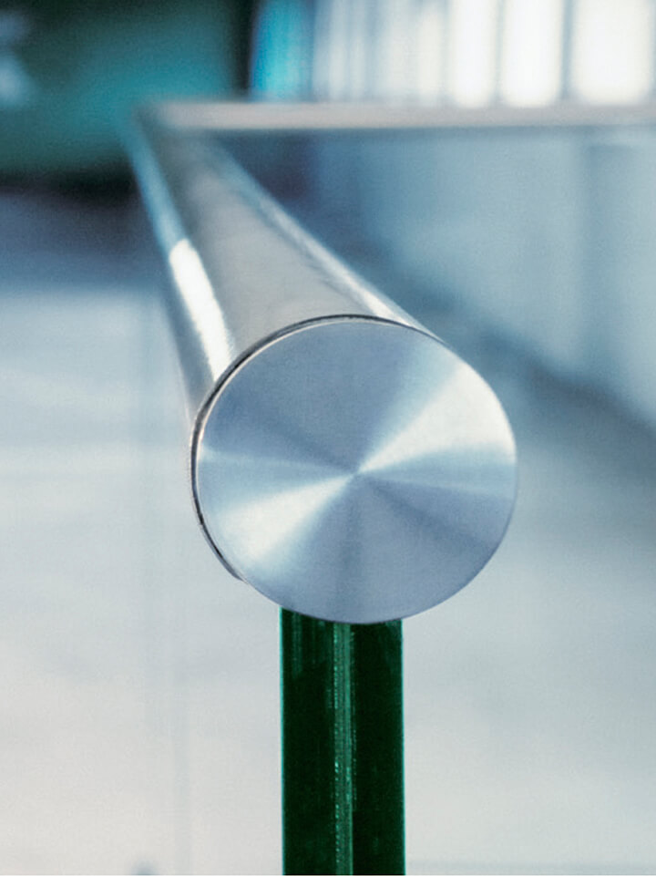 поручень для стекла