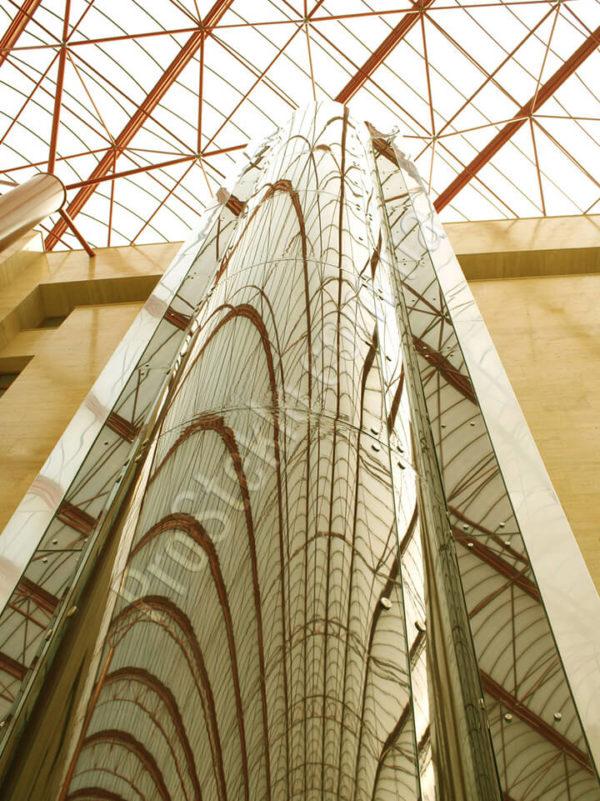 лифт стеклянный фото