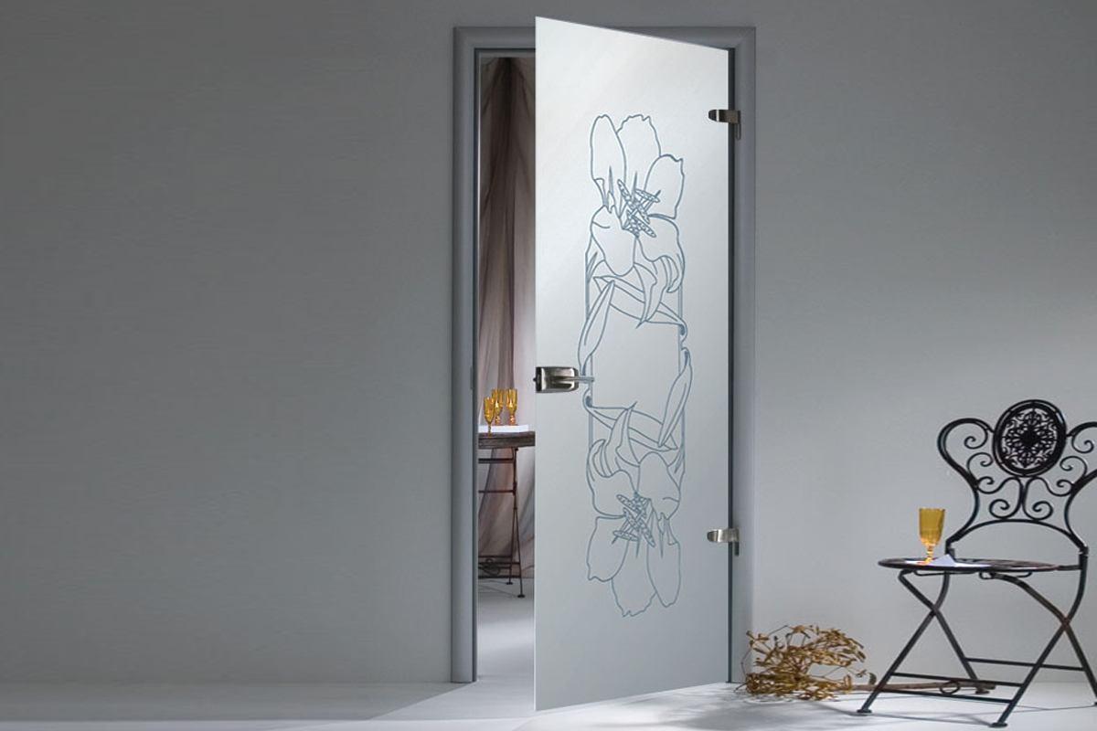 купить стеклянную дверь межкомнатную