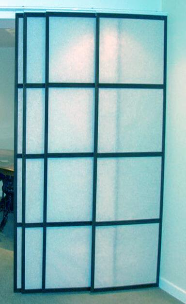 Стеклянные двери лофт