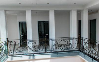 Стеклянные межкомнатные двери в офисные помещения