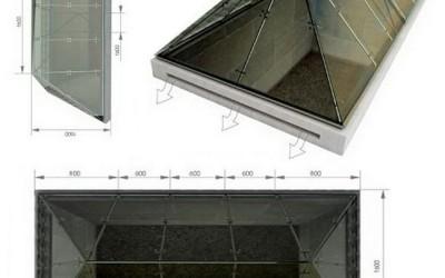 Визуализация стеклянный купол на Приморском бульваре