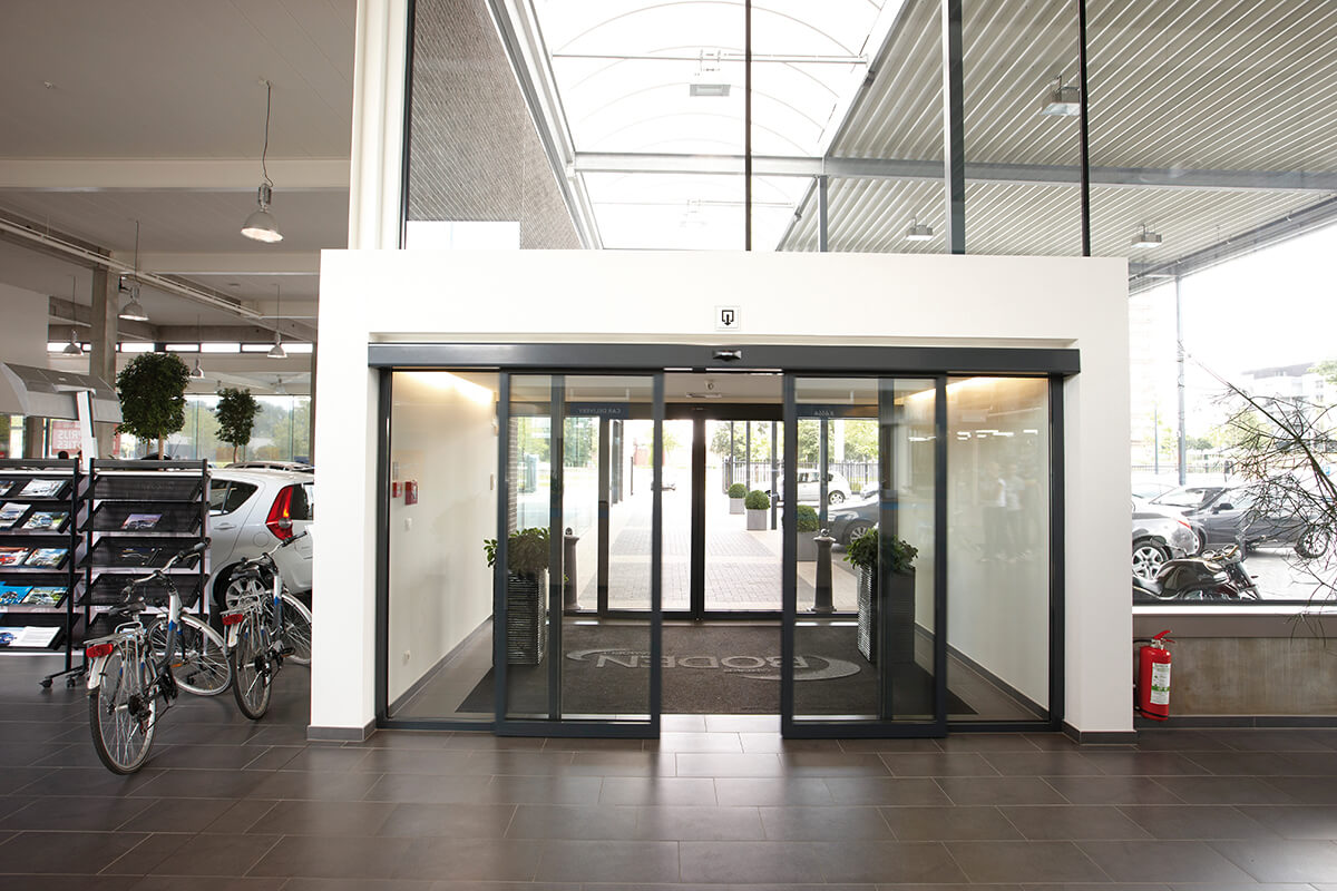 автоматическая система открывания дверей