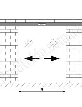схема автоматических дверей