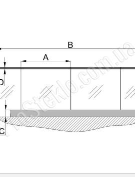 схема балконного остекления