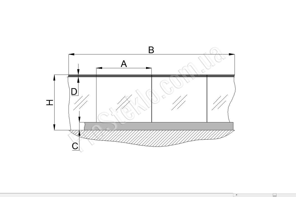 схема на балконное ограждение