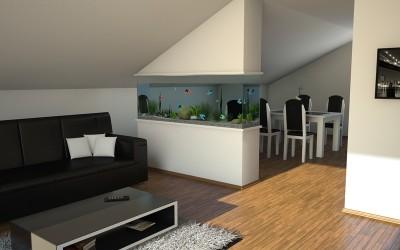 дизайн проекты кухни-гостиной