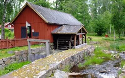 домик в лесу швеция