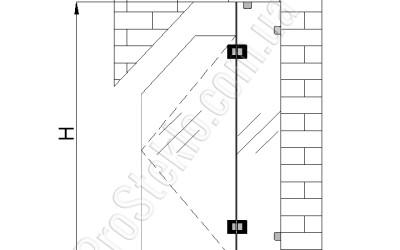 схема душевой кабинки