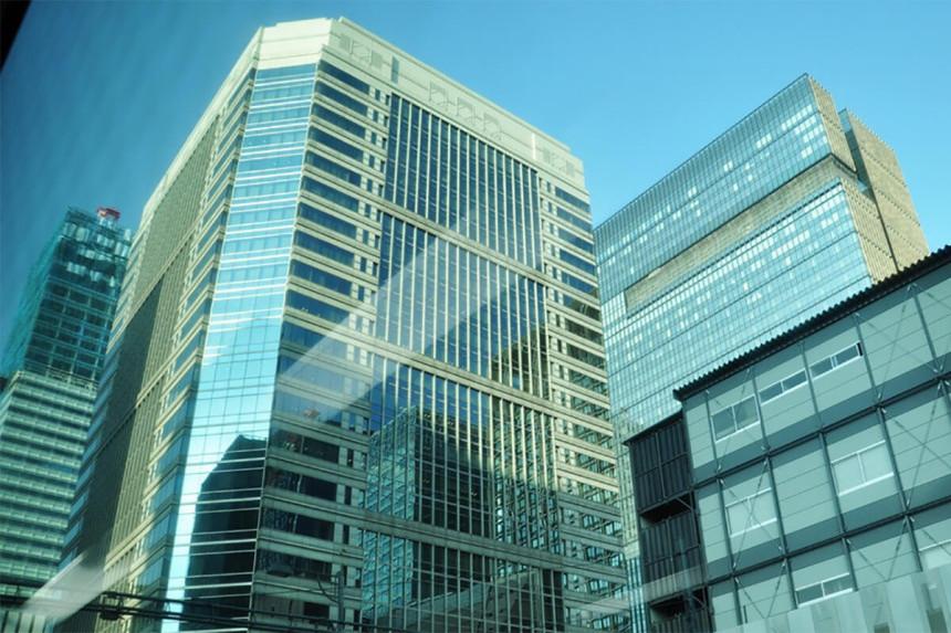 стеклянные фасады фото