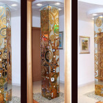 колонна стекло