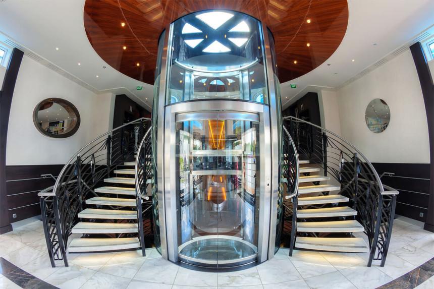 монтаж лифтов