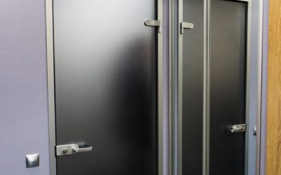 Стеклянная матовая межкомнатная дверь Startime