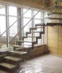 Невидимое ограждение лестницы