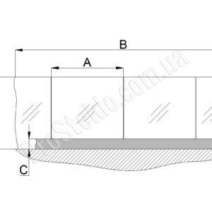 схема стеклянного атриума
