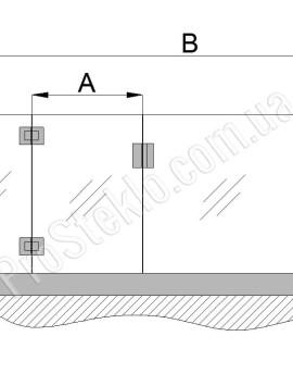 чертеж ограждения бассейна