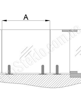 чертеж ограждения для балкона