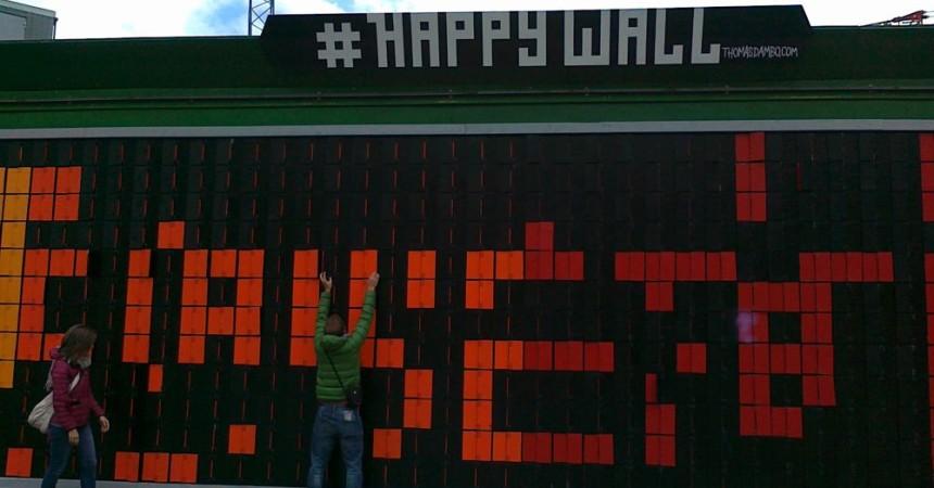 Happy wall копенгагаен