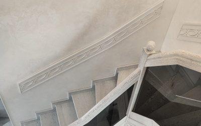 остекление лестницы