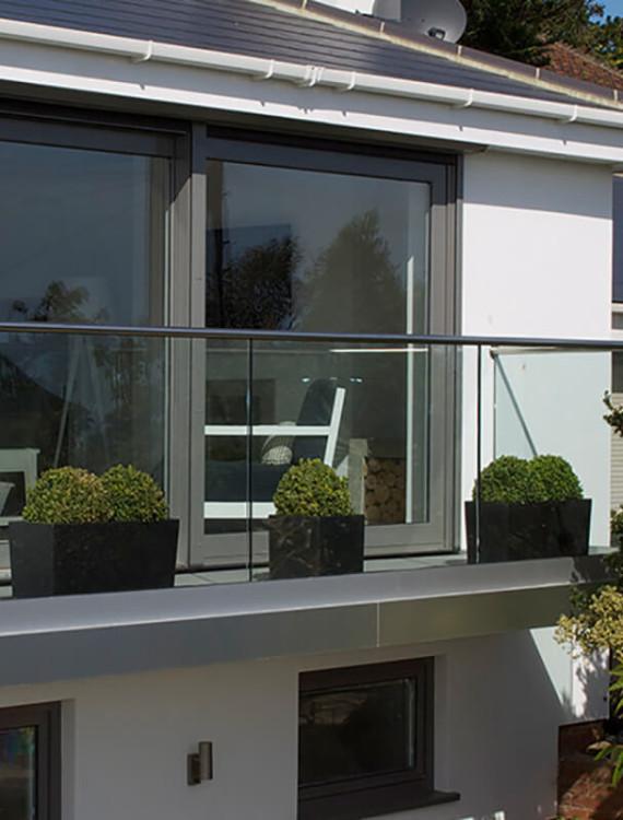 ограждение балкона q-railing