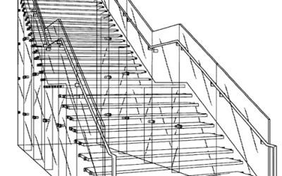 проектирование стеклянных лестниц