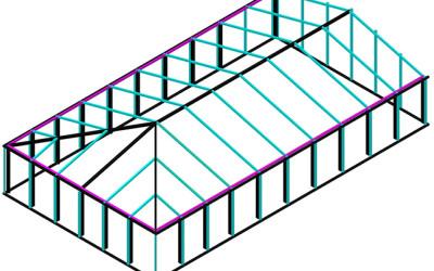 проектирование пространственных конструкций
