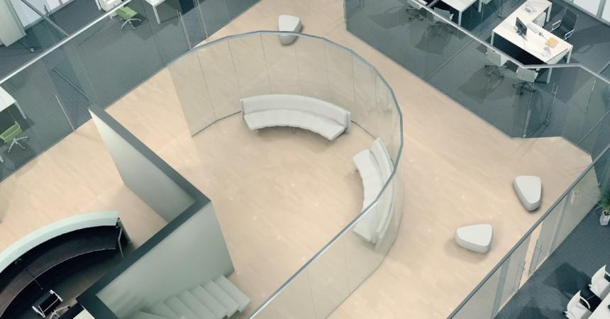 проектирование стеклянных перегородок