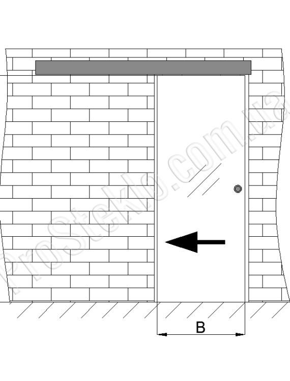 монтаж раздвижных дверей