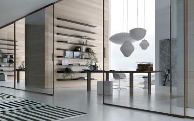 Новая коллекция стеклянных дверей Rimadesio