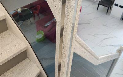 стекло для лестницы