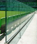 ограждение террасы из стекла