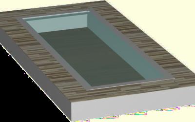 стеклянный пол окно
