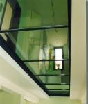 потолок стеклянный