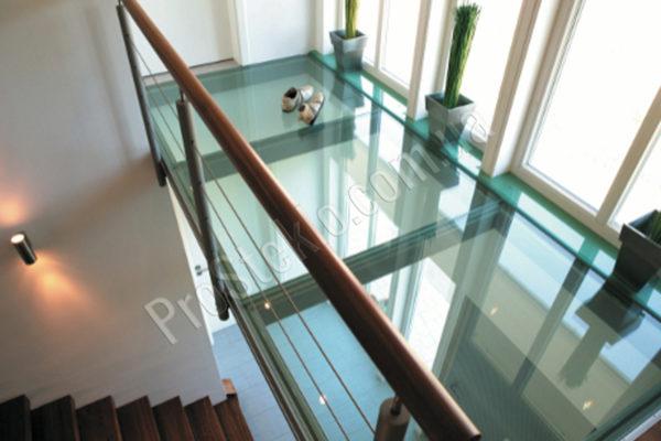 пол потолок стекло