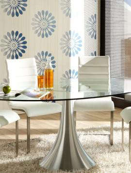 стол со стеклянной столешницей