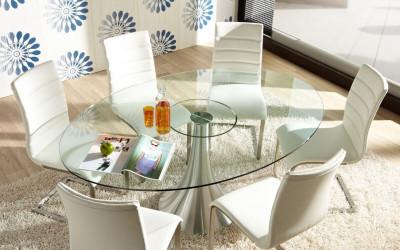 стеклянный стол фото
