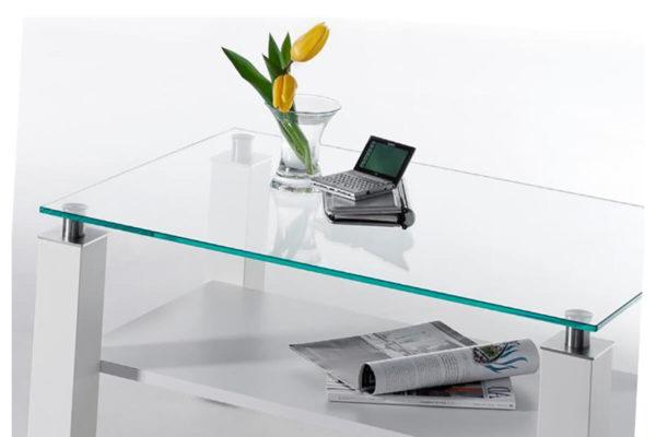 столик журнальный из стекла
