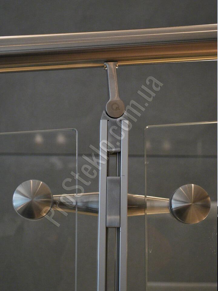 фурнитура на стеклянное ограждение лоджии