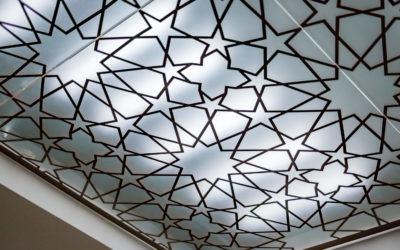 выбрать и установить стеклянный потолок