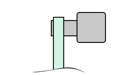 выносной поручень для ограждения из алюминия