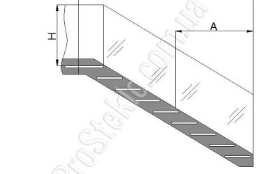ограждения лестниц чертеж