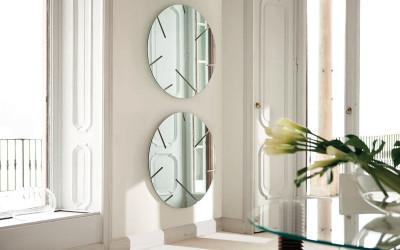круглое зеркало